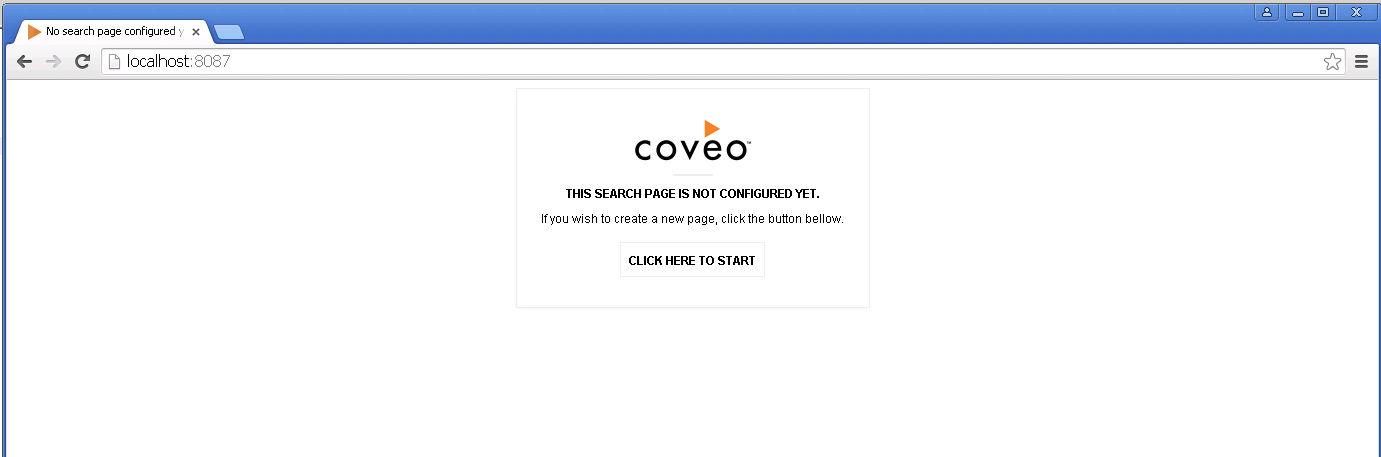 Coveo JS Landing Page